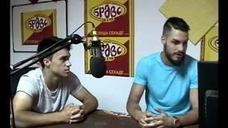Daniel i Gordan vo Radio Bravo