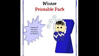 Winter Printable Activity Pack