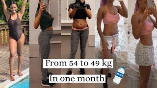 How to lose 5 kg in a month|| Norwegian |eng sub|Gå ned 5kg på en mnd!