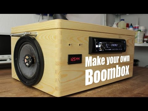 Make your own Boombox