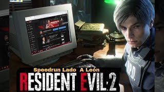 Resident Evil 2 Speedrun Any% Lado A leon - Gameplay En Español