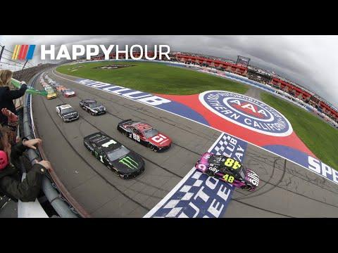 NASCAR オートクラブ400 ハイライト動画(52分)