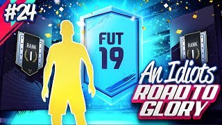 TRADEABLE PACKS RANK 1 DIV RIVALS REWARDS!!! AN IDIOTS FIFA 19 ROAD TO GLORY!!! Episode 24
