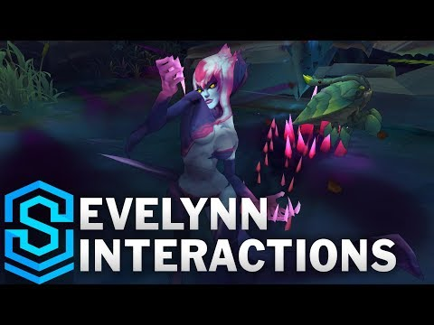 Evelynn Special Interactions