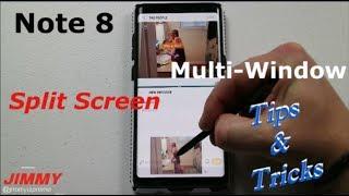 Multi-Window / Split Screen IN-DEPTH Tutorial Note 8