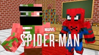 Monster School : MARVEL'S SPIDER-MAN - Minecraft Animation