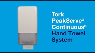 Thumbnail for Tork PeakServe Continuous Towel Refill & System
