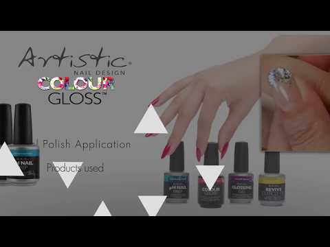 Artistic Colour Gloss: Application