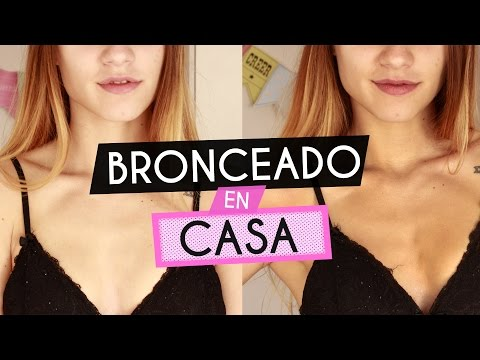 BRONCEADO EN CASA! Facil y rapido | Juli Berea
