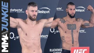 UFC Prague: Main event weigh-in