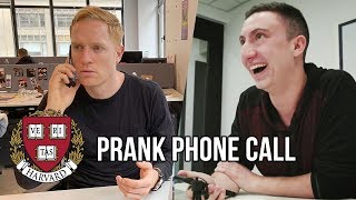 Tommy Smokes Prank Calls the Barstool Sports Office
