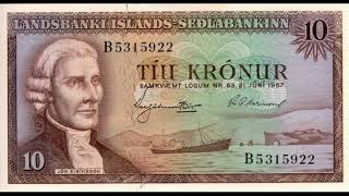 Paper money Iceland - Iceland Krona - banknotes - banknotes