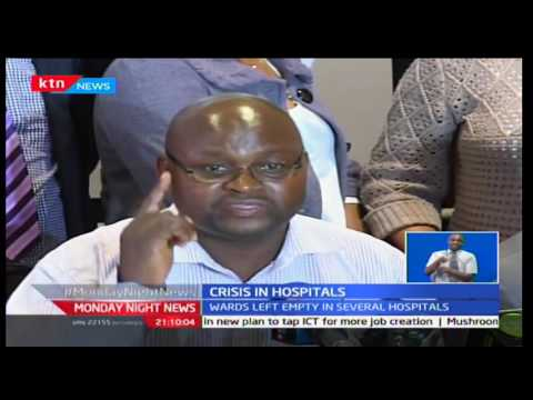 Monday Night News: Health workers remain strong in their fight for a better pay despite lack of talk