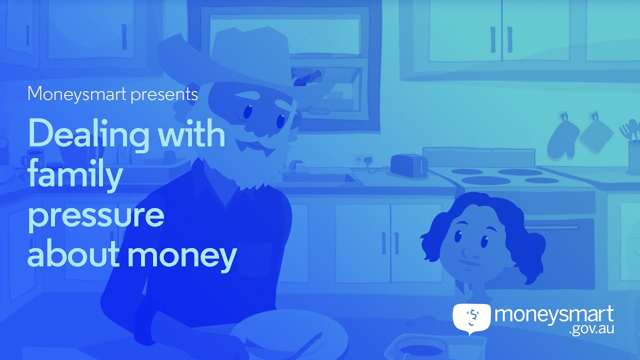 Video thumbnail image for: Dealing with family pressure about money