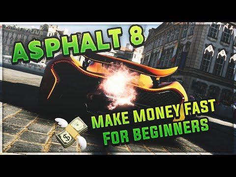 How To Make Money Fast *FOR BEGINNERS* In Asphalt 8
