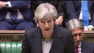 MAY WACKELT: Regierungskrise in London wegen Brexit-Entwurfs