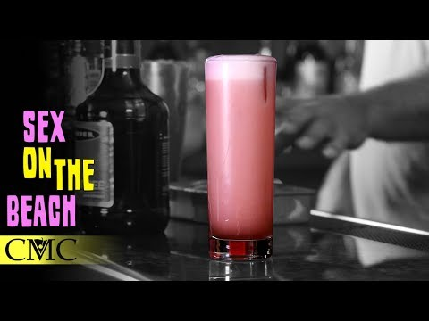 ️ How To Make The Sex on the Beach Cocktail Recipe  ️