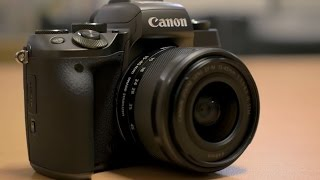 Canon EOS M5 Mirrorless Camera - Hands-on First Look