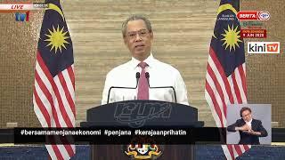 LIVE: Perutusan Khas oleh Perdana Menteri, Muhyiddin Yassin