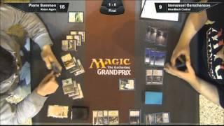 Grand Prix Seville 2015 Finals: Pierre Sommen (Abzan Aggro) vs. Immanuel Gerschenson (U/B Control)