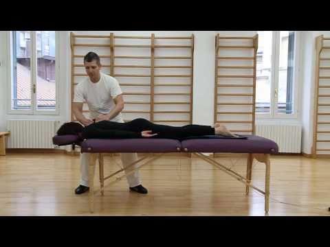 Rilassamento dei muscoli del collo con osteocondrosi