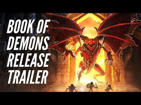Book of Demons Final Release Trailer thumbnail