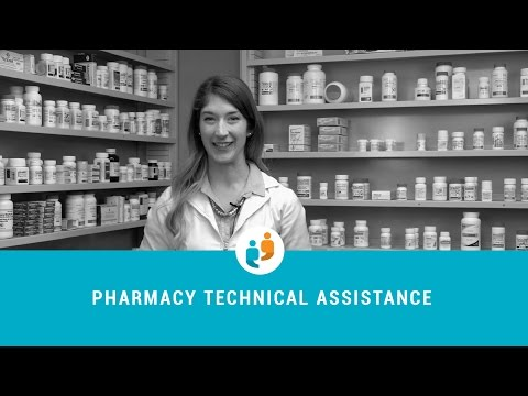 DVS in pharmacy technical assistance