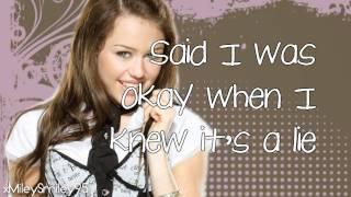 Miley Cyrus - Clear (with lyrics)