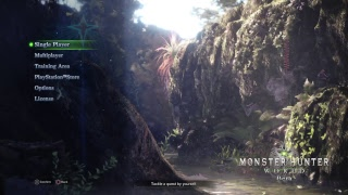 Monster Hunter: World Beta - Убиваем монстров на PS4