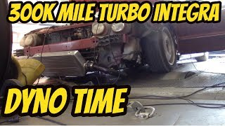 Turbo Integra with 300k Miles Dyno Numbers