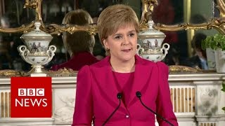Scottish independence:  Nicola Sturgeon to seek second referendum - BBC News