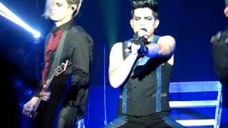Adam Lambert Sure Fire Winners Knoxville, TN Jul 6, 2010