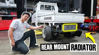 Keeping a Rotary Cool = Not Easy! 13b Swapped Pit Truck Gets Rear Mount Rad // 621 Golden Ep.014
