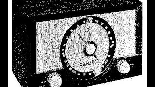 1956 Zenith 8Y02 AM FM Tube Radio Repair