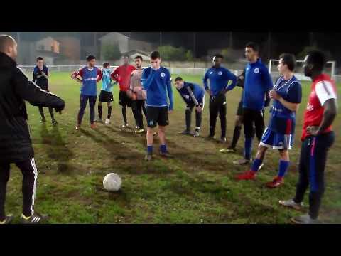 21/11/2018 - Olympique Rhodia U19 - Vidéo-Pédagogie & Entraînement Globalisé