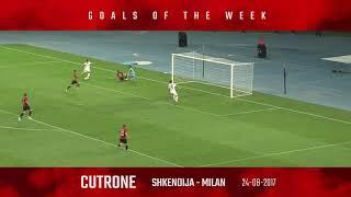 Goals of the week - September 16-23
