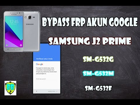cara atasi lupa sandi akun google Samsung j2 Prime/Bypass