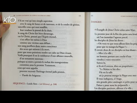 Solennité du Saint Sacrement du Corps et du Sang du Christ B - 2ème lecture