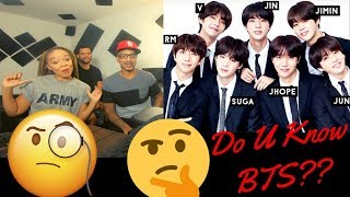 Do you know BTS? (Helpful Guide: INTRODUCTION) - KITO ABASHI REACTION