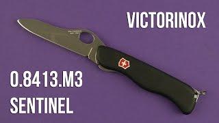 Victorinox Sentinel One Hand (0.8413.M3) - відео 3