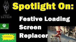 Skyrim (mods) - Vera - Spotlight On: Festive Loading Screen Replacer