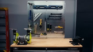 How to Create a Project Center on Your Workbench | PopMech + Home Depot