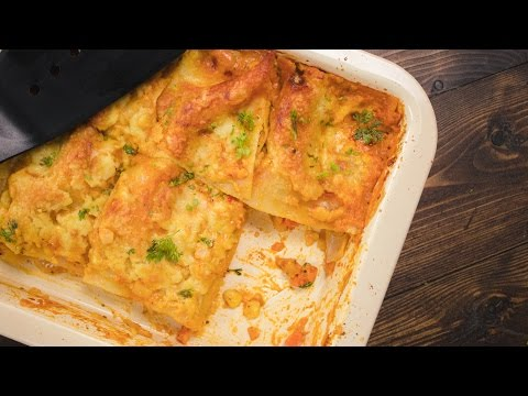 Veg Lasagna Recipe – How to make Healthy Vegetarian Lasagne | Indian Style Pasta Recipes