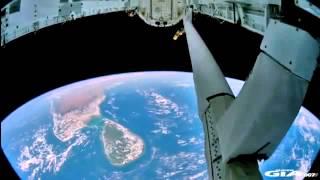 Документальные съемки НЛО с борта косм аппаратов NASA + 3 моих сибирских НЛО ))