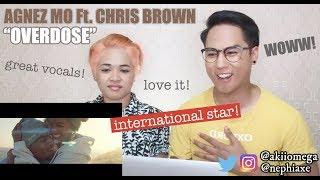 AGNEZ MO   Overdose Ft.  Chris Brown | REACTION