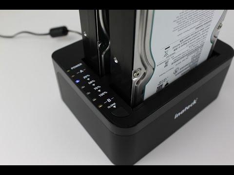 Inateck zweifache USB 3.0 Festplatten Dockingstation - Test