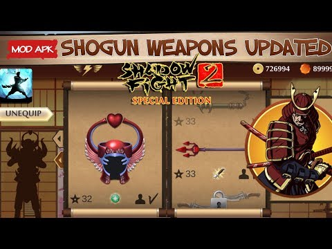shadow fight 2 special edition hack apk max level
