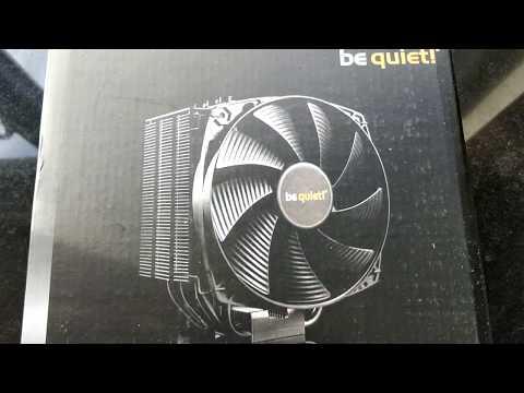 be quiet! Dark Rock 4 CPU Kühler Top-Flow Prozessorlüfter für Intel und AMD