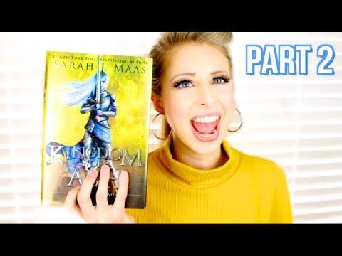 PART 2: KINGDOM OF ASH BY SARAH J MAAS | booktalk with XTINEMAY