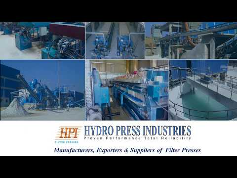 Fabrication STP ETP Plants Filter Press Peenya Bangalore Bengaluru